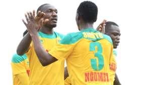 CLIFFORD ALWANGA and MIKE SIMIYU of Mathare United.