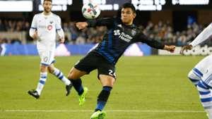 Nick Lima MLS San Jose Earthquakes 03042017