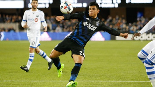 Nick Lima MLS San Jose Earthquakes 03042017