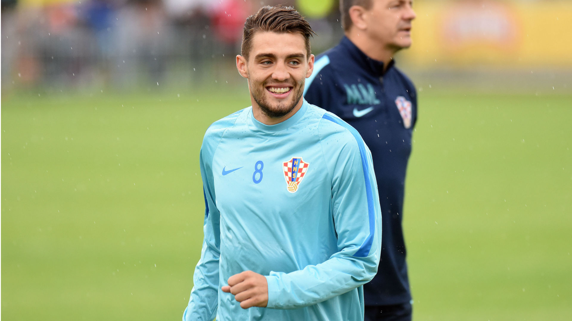 Mateo Kovacic croatia training