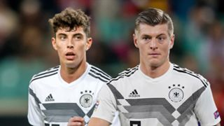 Kai Havertz Toni Kroos composite