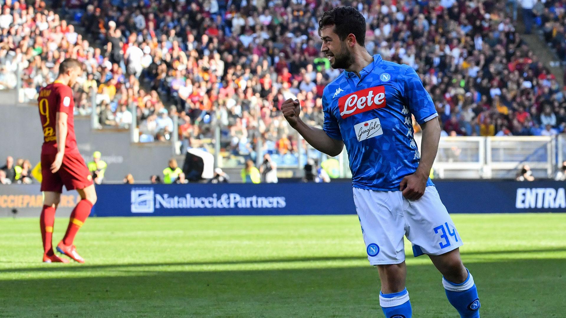 Amin Younes Roma Napoli