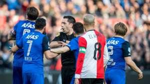 Dennis Higler, Feyenoord - AZ, Eredivisie 03112018