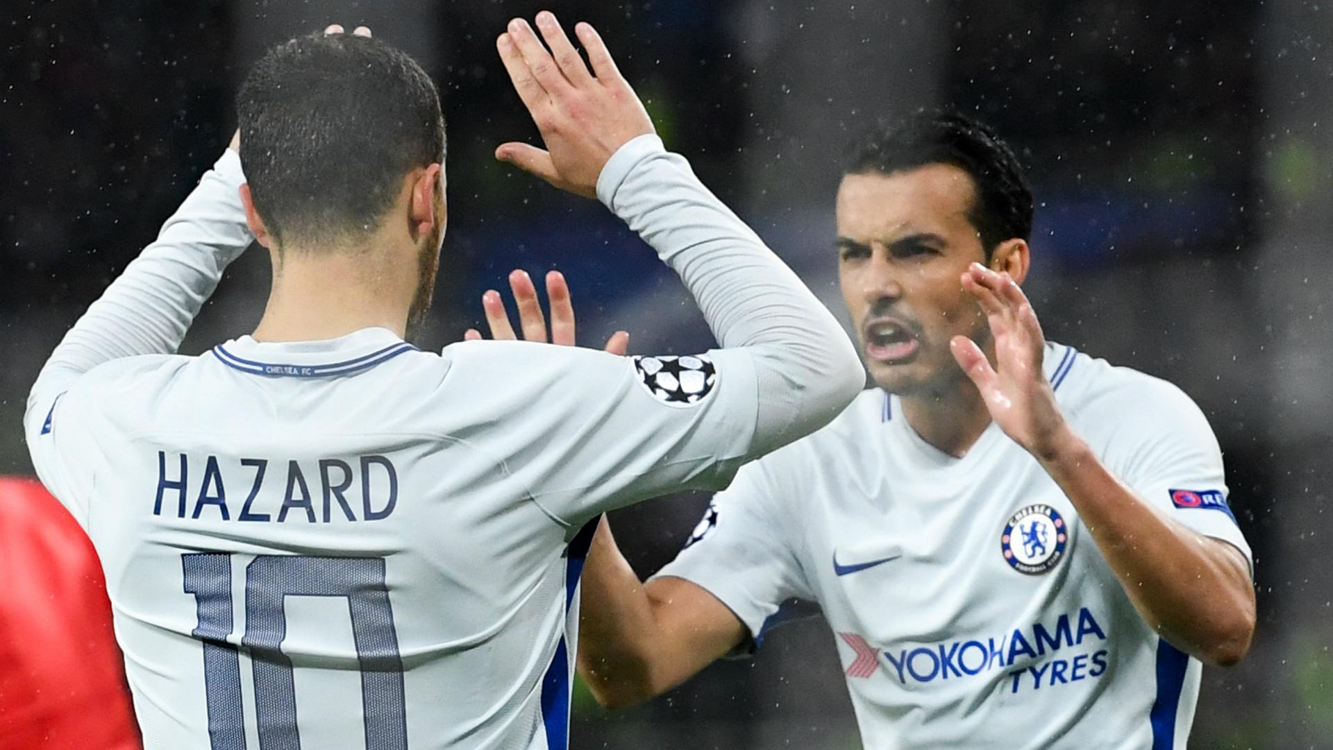 Eden Hazard Pedro Chelsea