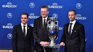 Reinhard Grindel Philipp Lahm UEFA EURO 2024