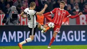 Thomas Muller Caner Erkin Bayern Munchen Besiktas Champions League 20022018