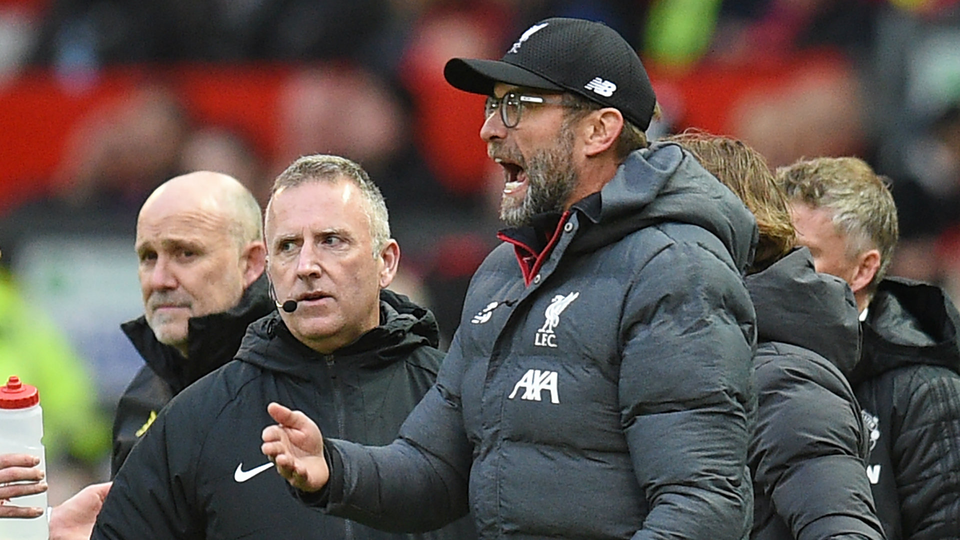 Jurgen Klopp Man Utd vs Liverpool 2019-20