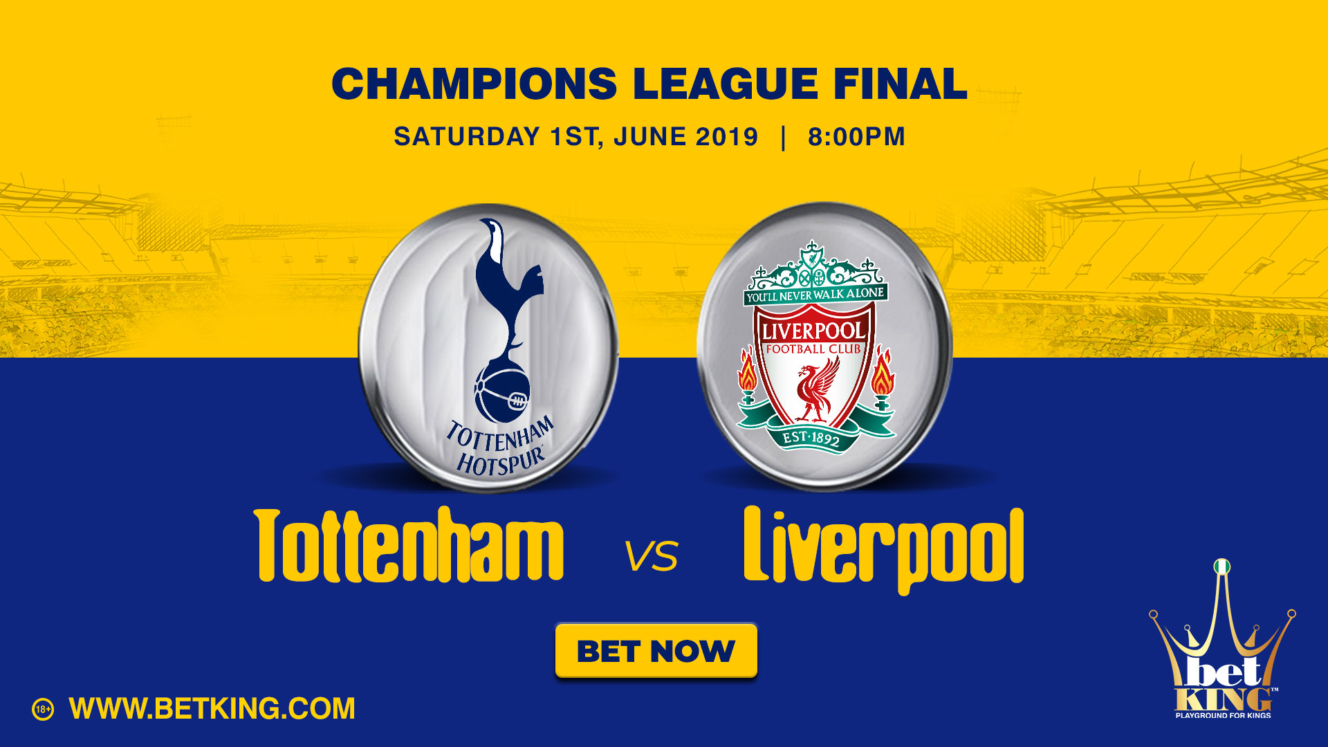 Betking UCL final