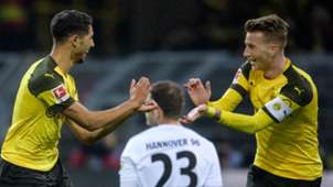 Achraf Hakimi, Marco Reus, Borussia Dortmund