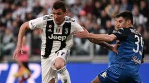 Mandzukic Juventus Empoli Serie A