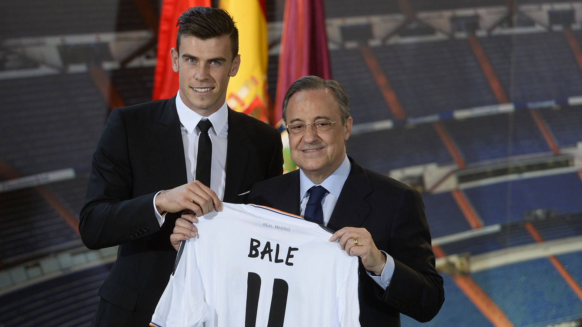 Gareth Bale Perez Real Madrid