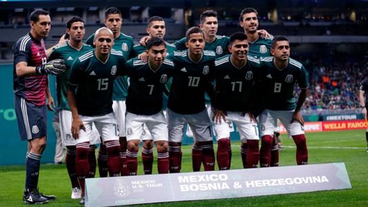 Selección mexicana vs Bosnia 010218