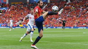 Juanfran Spain Czech Republic Euro 2016