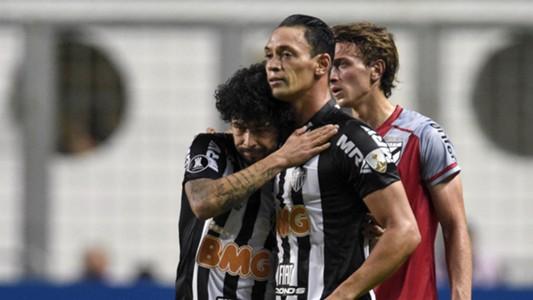 Luan Ricardo Oliveira Atlético-MG Danubio Copa Libertadores 12022019