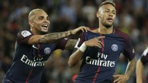 Neymar Layvin Kurzawa PSG Toulouse Ligue 1 20082017