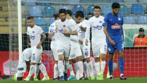Caykur Rizespor Kasimpasa Goal Celebration ZTK 04052017