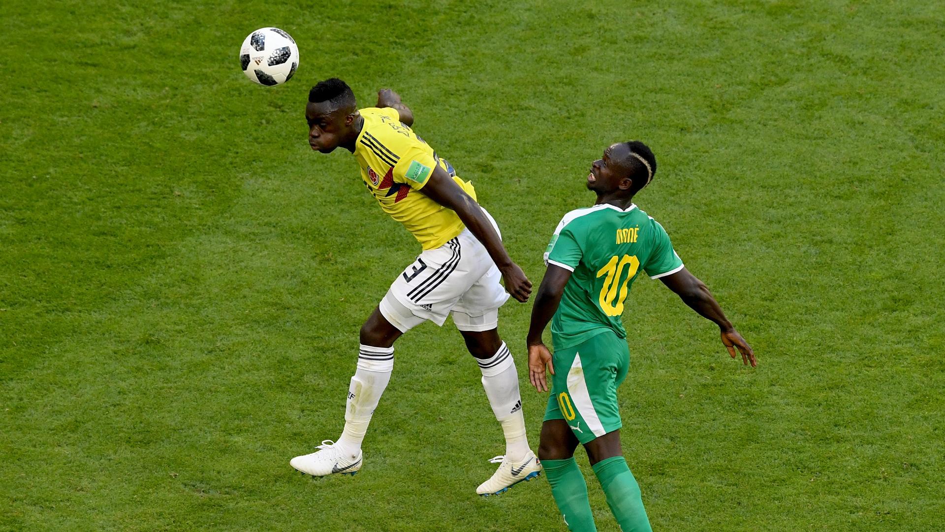 Davinson Sanchez Colombia Senegal WC Russia 28062018