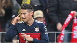 James Rodriguez Mainz 05 FC Bayern