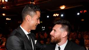 Cristiano Ronaldo Lionel Messi FIFA's The Best awards