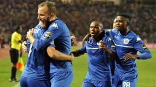 Jeremy Brockie, Thuso Phala & Teboho Mokoena , SuperSport United