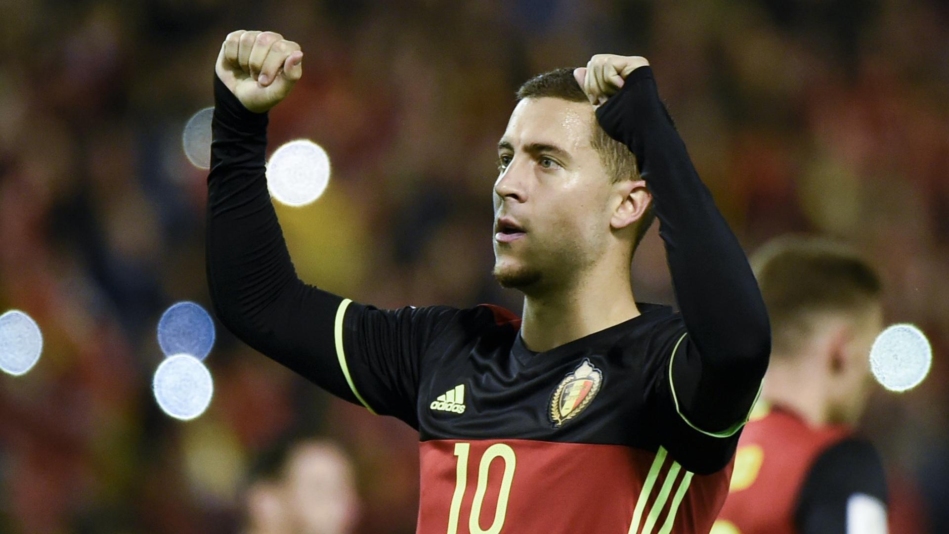 Eden Hazard Belgia 2018