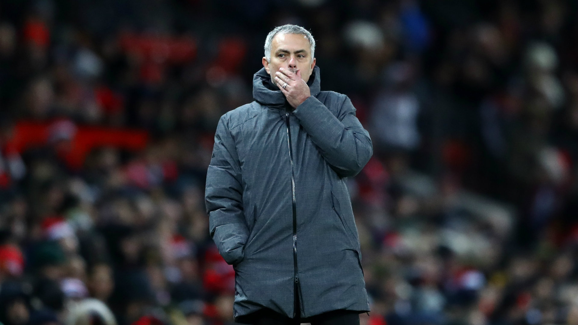Jose Mourinho, Manchester United vs Manchester City, 17/18