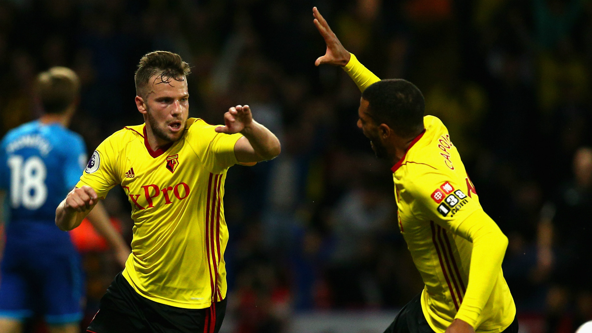 Tom Cleverley Watford Premier League