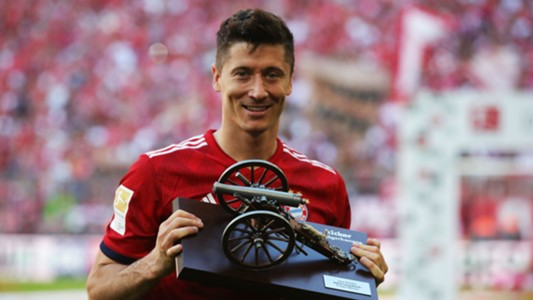Robert Lewandowski Bayern Munich top scorer award