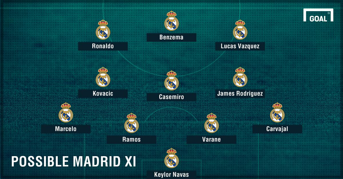 Madrid possible Osasuna