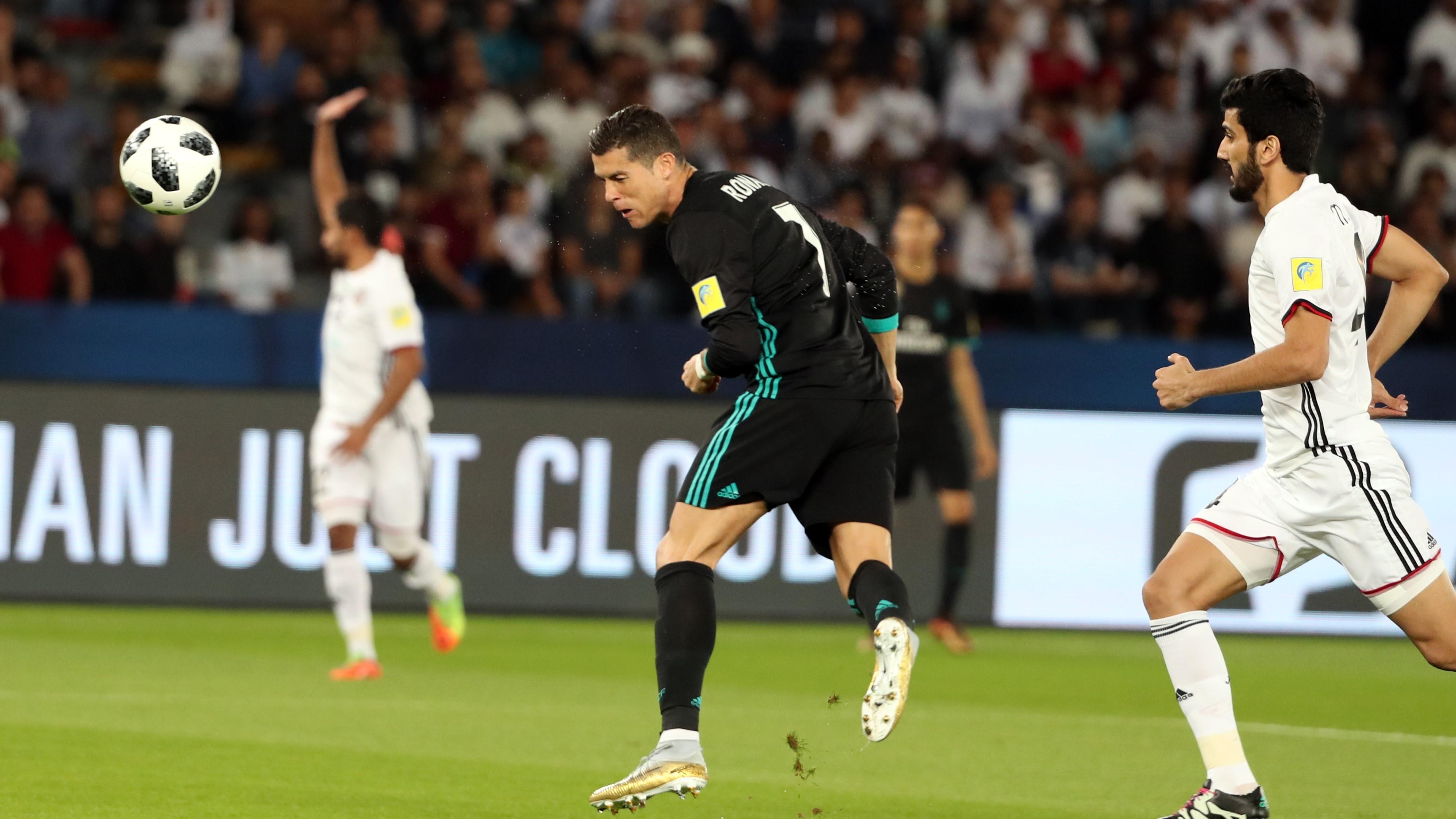 Cristiano Ronaldo Real Madrid Al Jazira Club World Cup 13122017
