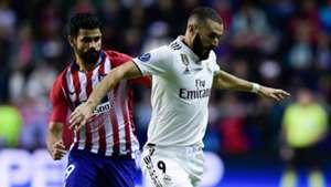 Karim Benzema Diego Costa Real Madrid Atletico Madrid UEFA Super Cup 15082018