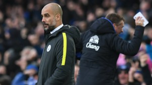 Pep Guardiola Everton Manchester City