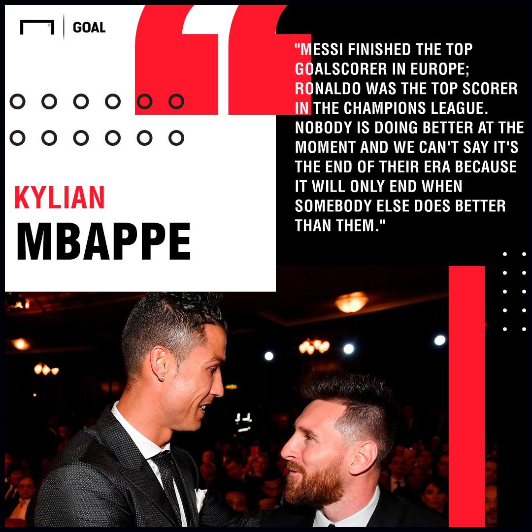 Ronaldo Messi Mbappe PS