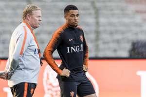 Danjuma + Ronald Koeman Netherlands