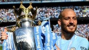 David Silva Manchester City 2017-18