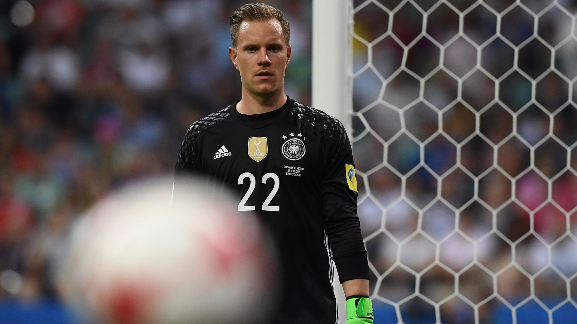 Marc-Andre ter Stegen, Germany Mexico, Confed Cup, 29062017