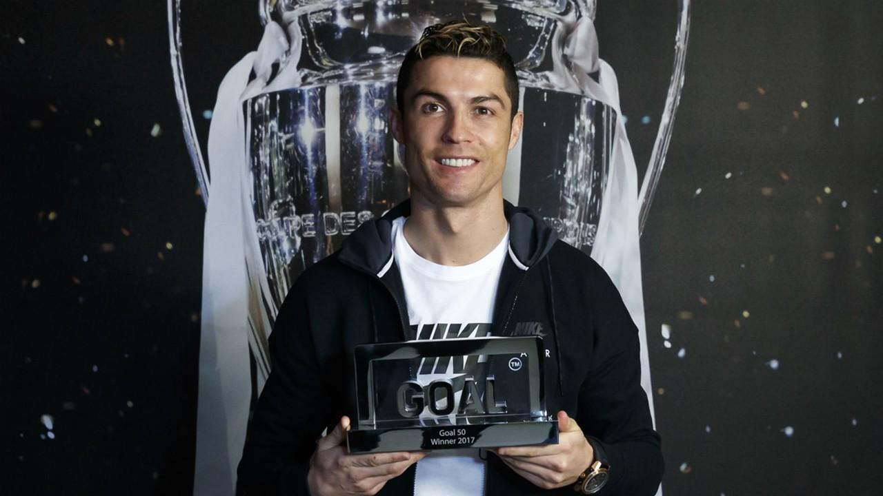 ผลการค้นหารูปภาพสำหรับ โรนัลโด้รับโล่ Goal 50 มั่นใจคืนฟอร์มเทพกับมาดริดได้
