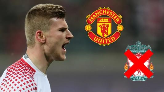 Werner picks Man Utd over Liverpool as RB Leipzig star reveals Premier League dream