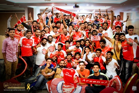 Arsenal Supporters Club Kerala