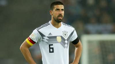 Sami Khedira DFB Germany 2018