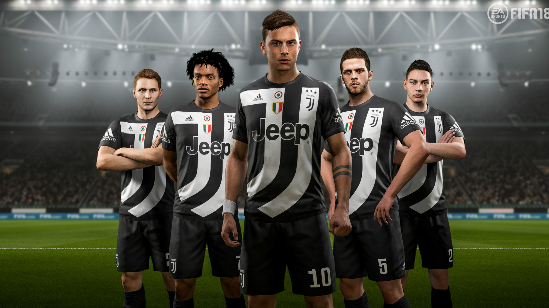 juventus 4 kit fifa 18