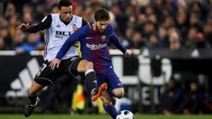 Coquelin Messi Valencia Barcelona Copa del Rey