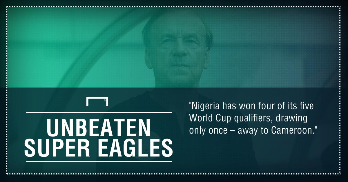 Nigeria unbeaten