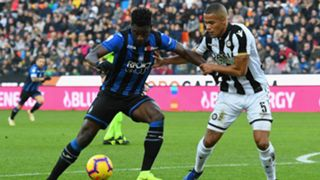Duvan Zapata Troost Ekong Udinese Atalanta Serie A