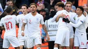 England National Team Celebrating 2018