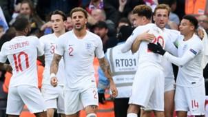 England National Team Celebrating 2018