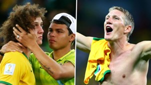 David Luiz Thiago Silva Bastian Schweinsteiger World Cup 2014