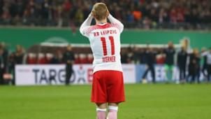 TIMO WERNER RB LEIPZIG GERMAN CUP DFB POKAL 25102017