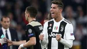 Cristiano Ronaldo Juventus Ajax Champions League