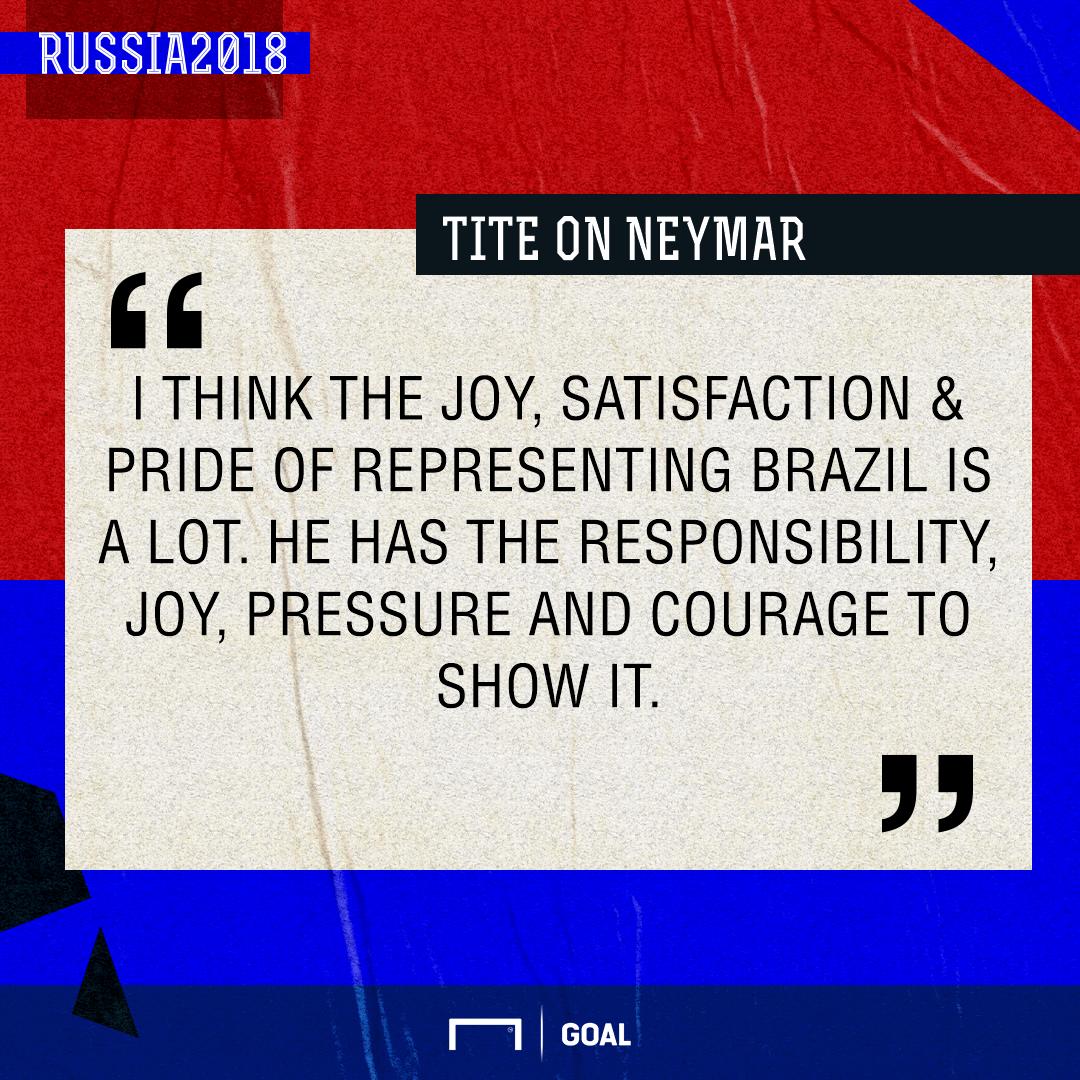 Tite on Neymar GFX
